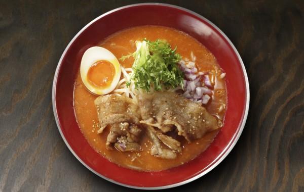 肉盛り濃厚辛味噌らーめん<br />NIKUMORI SPICY Rich MISO Ramen